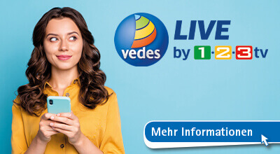 VEDES LIVE by 1-2-3.tv