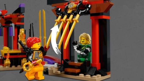 LEGO 70651 Ninjago Duell im Thronsaal