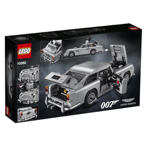 Wonderlijk LEGO(R) Creator 10262 James Bond Aston Martin DB5 1295 Teile 10262 UQ-14