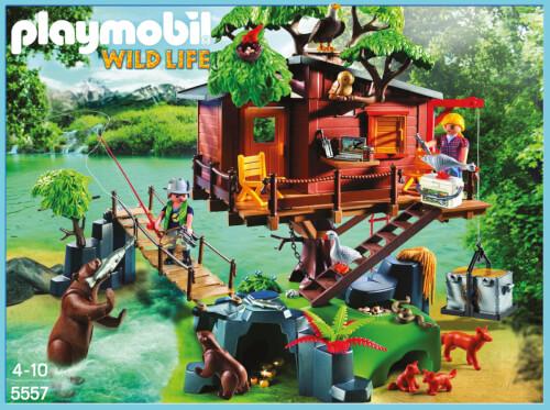 Playmobil 5557 Abenteuer-Baumhaus 5557 jetzt kaufen ...