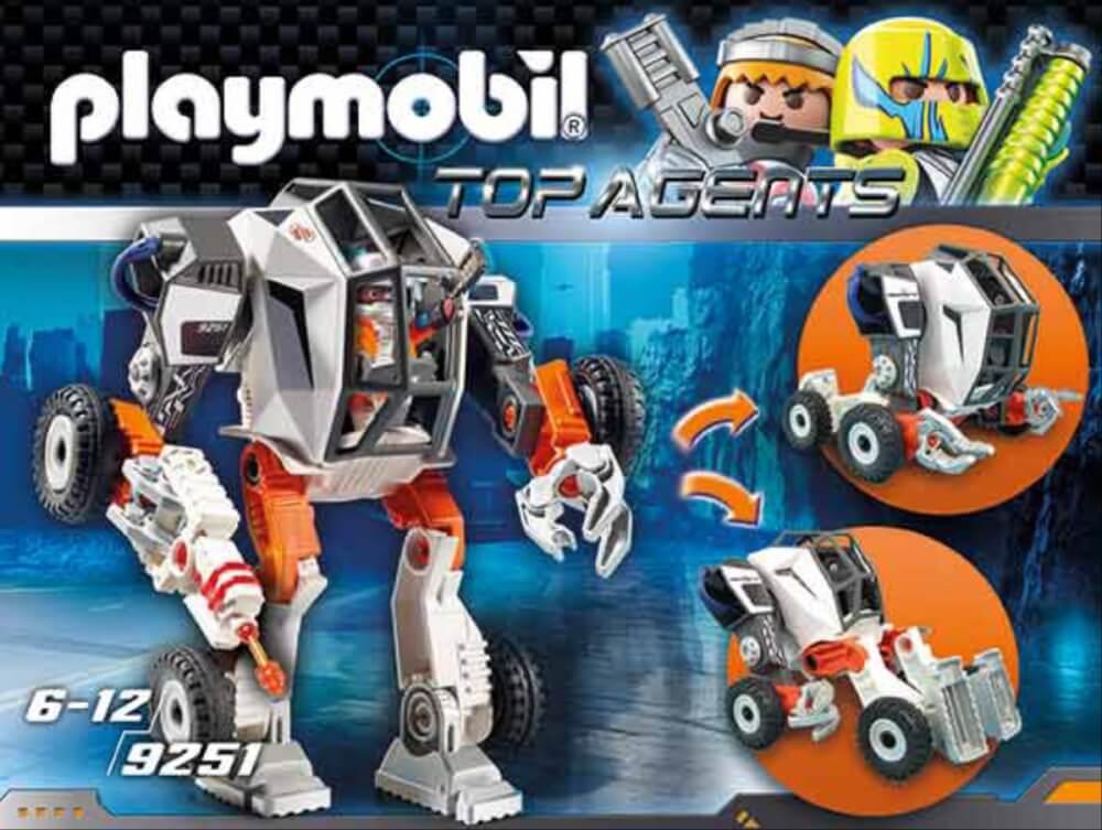 Playmobil 9251 Agent T.E.C./'s Mech