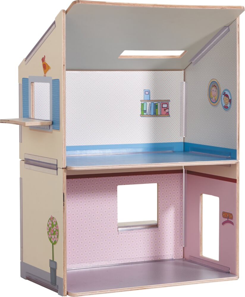 HABA Little Friends Puppenhaus Zubehör Küche Spielhaus Puppen Haus Spielzeug