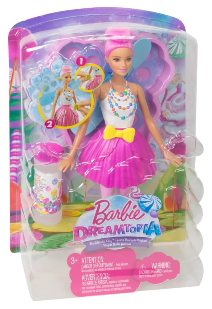Barbie DVM95 Mattel DVM95 Dreamtopia Seifenblasen Fee Puppe