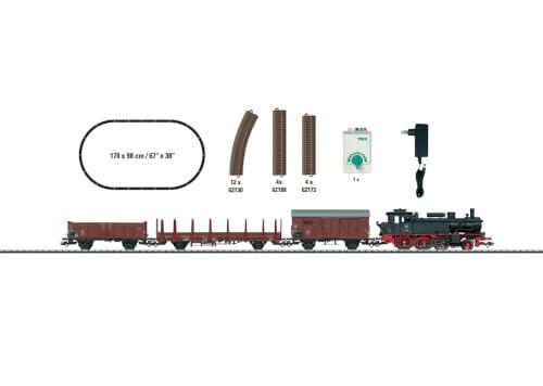 Trix T21530 H0 Startpackung Güterzug BR 74
