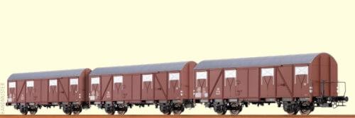 H0 Güterw. Glmhs50 DB III [3e