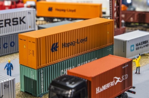 H0 40' Hi-Cube Container Hapag Lloyd