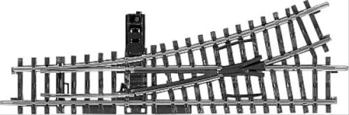 Märklin 2265 MÄRKLIN 2265 H0-Handweiche links r424,6 mm