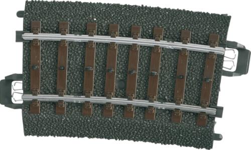 Märklin 24207 H0-Gleis geb. r437,5 mm,7,5 Gr.