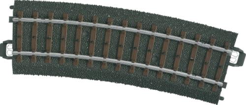 Märklin 24215 H0-Gleis geb. r437,5 mm,15 Gr.