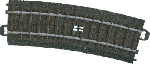 Märklin 24294 H0-Schaltgleis geb.r437,5 mm,15