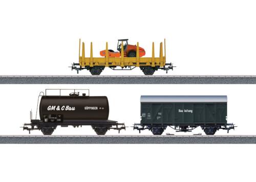 Märklin 44083 H0 Märklin Start up - Güterwagen-Set Baustelle