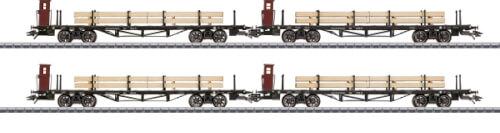 Märklin 46287 Flachwagen m.Holzbeladung DRG