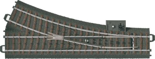 Märklin 24612 H0-Weiche rechts r437,5 mm,24,3