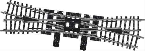 Märklin 2275 MÄRKLIN 2275 H0-Doppelkreuzungsweiche 225 mm