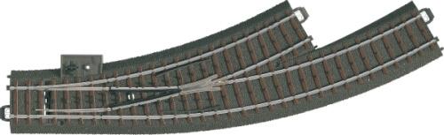 Märklin 24671 H0-Bogenweiche links r360 mm,30