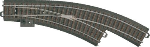 Märklin 24672 H0-Bogenweiche rechts r360 mm,30
