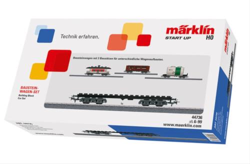Märklin 44736 H0 Märklin Start up - Bausteinwagen-Set