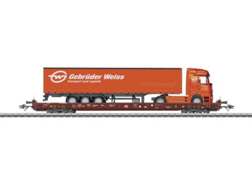 Märklin 47428 H0 RoLa Endwagen Gebr.Weiss DB AG