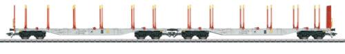 Märklin 47067 H0 KLV-Tragwagen-Set SJ