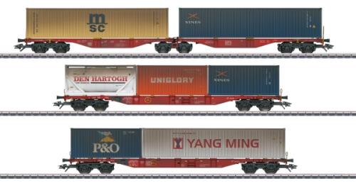 Märklin 47810 H0 Containerwagen-Set DB AG, VI