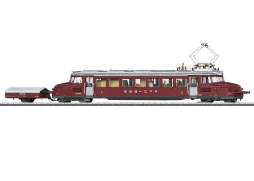 Märklin 37869 H0 Triebwagen Roter Pfeil m.Hänger