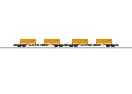 Märklin 47131 H0 Cont.Tragwagen-Set AAE/DB
