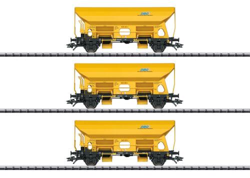 Trix T24168 H0 Selbstentladewagen-Set DBG