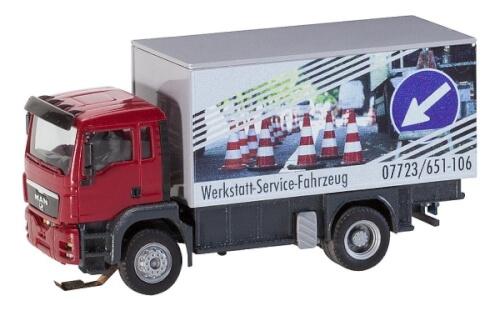 H0 LKW MAN TGS Werkstattservicewagen (HERPA/RIETZE)