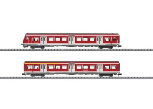 N Schnellzugwagen-Set Rheingold DRG