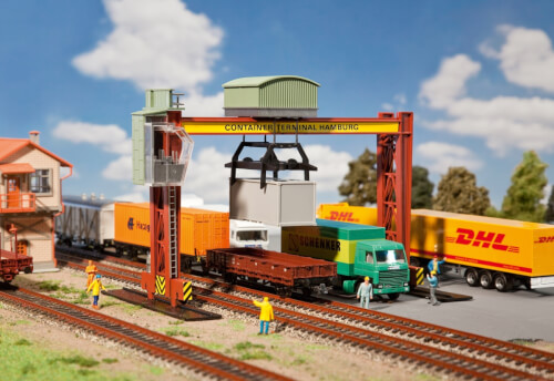 H0 Containerbrückenkran