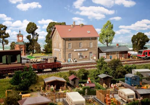 H0 Bahnhof Sonnheide