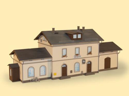 H0 Bahnhof Flöhatal