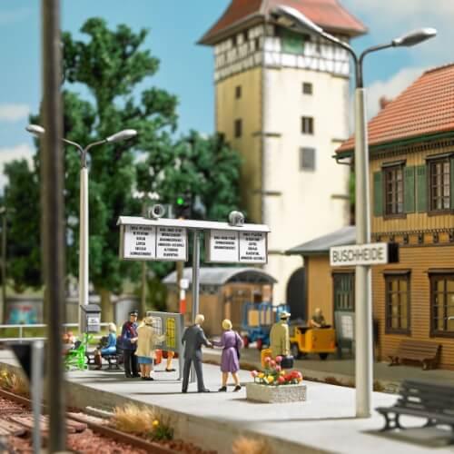 H0 Bahnhof Ausgestaltung