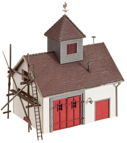 H0 Ländliches Feuerwehrhaus