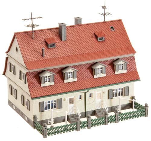 H0 Siedlungs-Doppelhaus