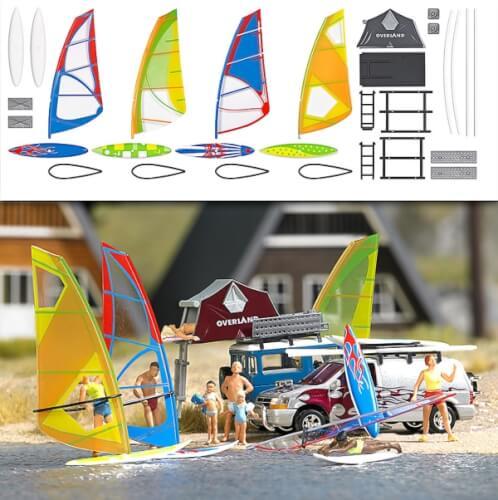 H0-Windsurfer-Set