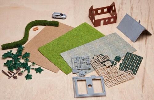 H0 Kreativ Bastel-Set II Einfamilienha