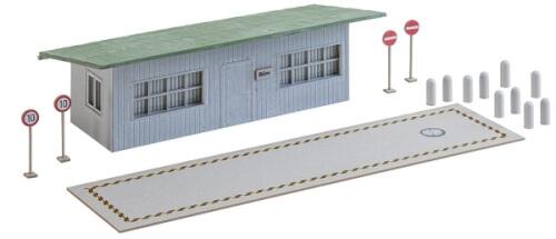 H0 LKW-Waage mit Bürogebäude