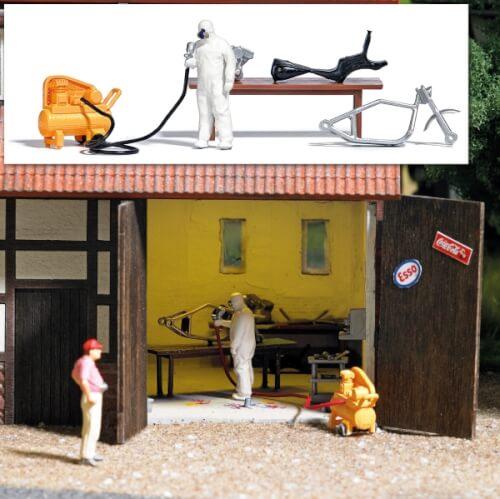 H0 A Set Hinterhof Lackierer 7811 Jetzt Kaufen Online