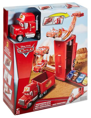 Film- & TV-Spielzeug Mattel Cars Megasprung 3in1 Mack DVF39 günstig kaufen