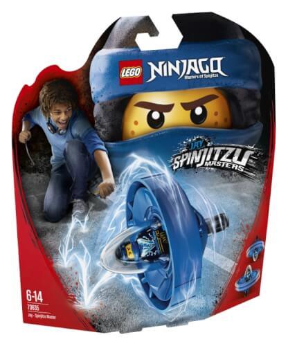 THE LEGO® NINJAGO® Movie? 70635 Spinjitzu-Meister Jay, 68 Teile