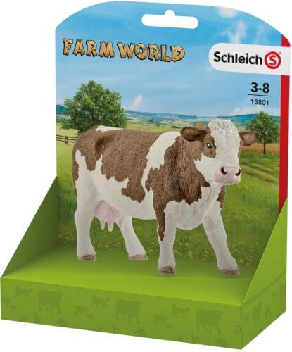 Schleich 13801 Fleckvieh-Kuh