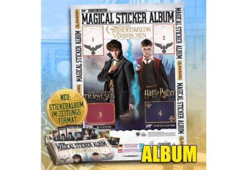 Harry Potter, Phantastische Tierwesen 2, Album, 24 Seiten für 204 Sticker