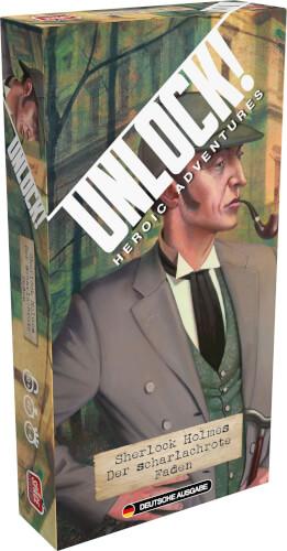 Unlock! - Sherlock Holmes: Der scharlachrote Faden (Einzelszenario) Box 5