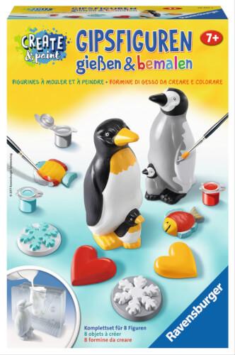 malen nach zahlen pinguin