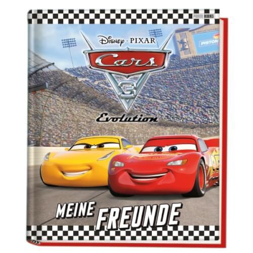 Disney Cars 3 Freundebuch 338 03495 Jetzt Kaufen Online Vor Ort