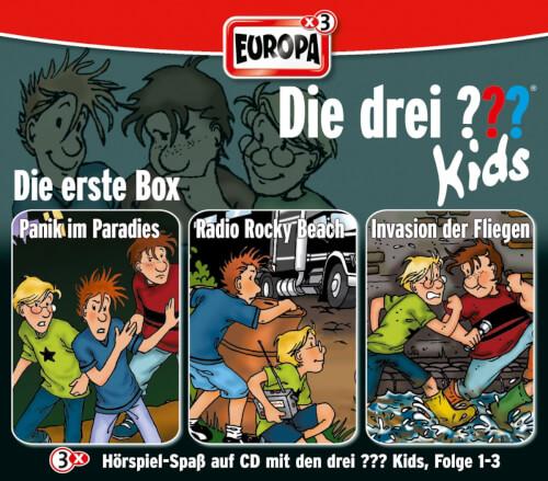 Kosmos Die drei ??? Kids CD-Box Folgen 1 - 3