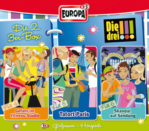 Kosmos Die drei !!! CD-Box Folgen 4 - 6