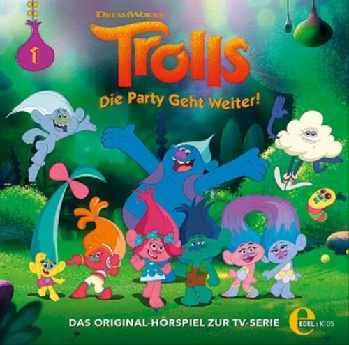 CD Trolls Party 1: Regen
