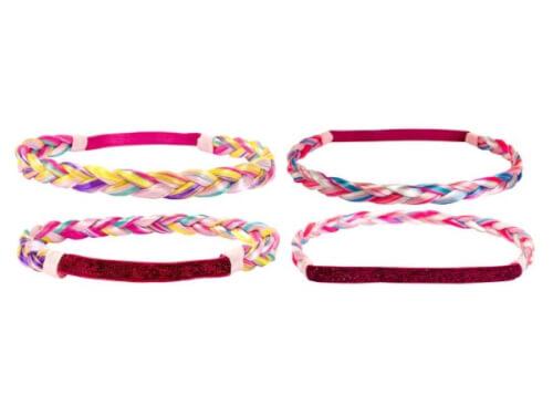 Haarband geflochten 2 Farben